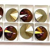 Материалы для творчества handmade. Livemaster - original item 1 PCs 12mm Rivoli 001LISH Swarovski Lilac Shadow Rivoli Swarovski. Handmade.