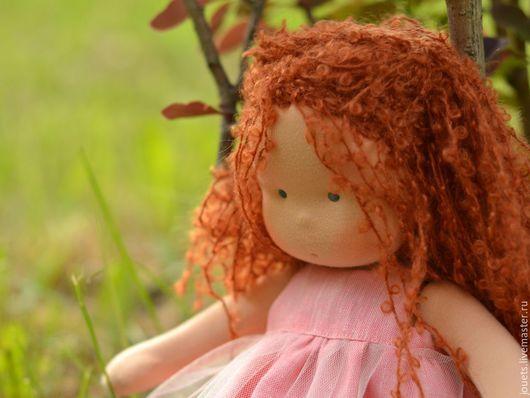 Вальдорфская игрушка ручной работы. Ярмарка Мастеров - ручная работа. Купить Принцесса Барбариска, 34см. Handmade. Рыжий, кукла для девочки