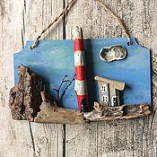 Комплекты аксессуаров для дома ручной работы. Ярмарка Мастеров - ручная работа Маяк на скалистом берегу. Handmade.
