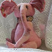 Куклы и игрушки ручной работы. Ярмарка Мастеров - ручная работа Тедди слон -  Тортик. Handmade.