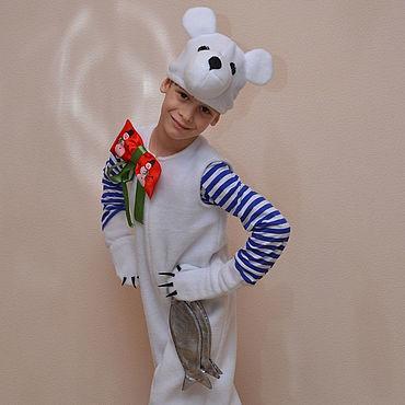 Одежда ручной работы. Ярмарка Мастеров - ручная работа Белый мишка. Handmade.