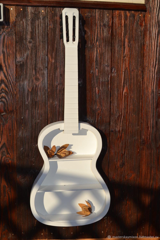 Интерьерная полка из гитары, Полки, Королев, Фото №1