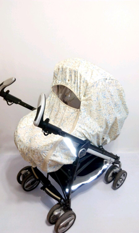 Накидка зимняя непромокаемая универсальная на коляску, Козырек для коляски, Рязань,  Фото №1