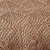 Для дома и интерьера ручной работы. Ярмарка Мастеров - ручная работа Плед-покрывало ажурное ,полушерсть. Handmade.