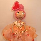 """Куклы и игрушки ручной работы. Ярмарка Мастеров - ручная работа Коллекционная куколка """" День Святого Валентина"""". Handmade."""