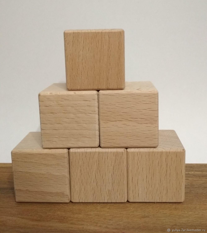 Деревянные кубики, Кубики и книжки, Иглино,  Фото №1