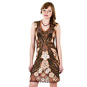 """Одежда ручной работы. Ярмарка Мастеров - ручная работа Вязаное мини платье """"Brandy"""". Handmade."""
