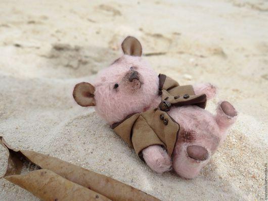 Мишки Тедди ручной работы. Ярмарка Мастеров - ручная работа. Купить Тедди мишка Скиппи в костюме собачки. Handmade. teddybear