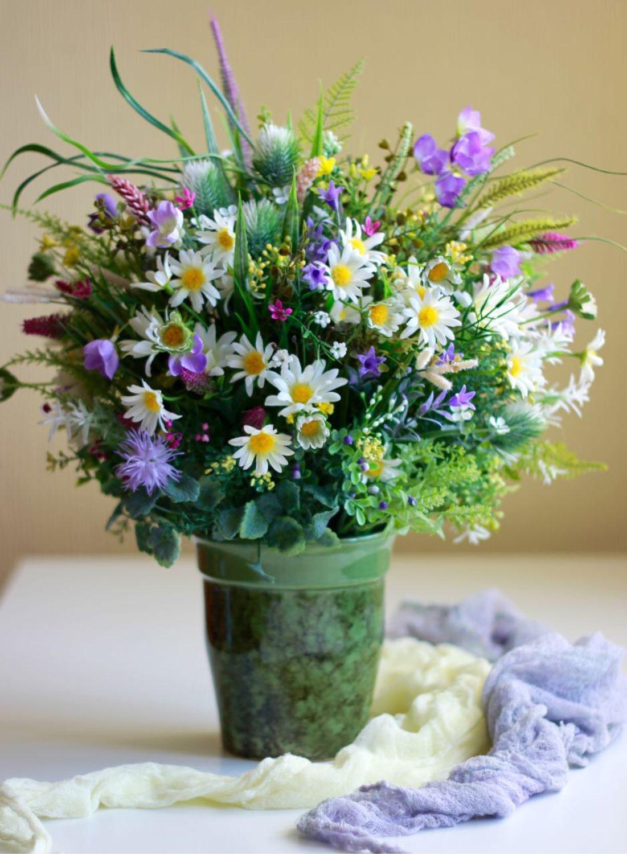 Невесты й-оле, букет из полевых цветов цветы купить красноярск