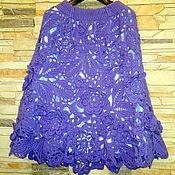 Одежда ручной работы. Ярмарка Мастеров - ручная работа юбка вязанная, ирландское кружево. Handmade.