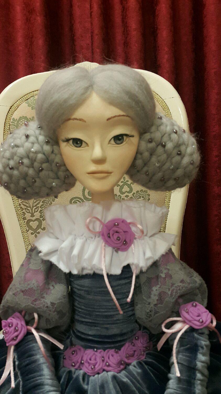 """Кукла из самоотвердевающего пластика """"Миа"""", Куклы, Салехард, Фото №1"""