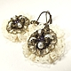 Order Morning Lace Fairy. earrings. ms. Decorator. Livemaster. . Earrings Фото №3