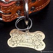 Зоотовары handmade. Livemaster - original item Adresnik for dogs. Handmade.