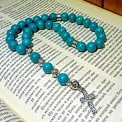 Фен-шуй и эзотерика handmade. Livemaster - original item Gift beads made of natural turquoise. Handmade.