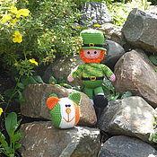Куклы и игрушки ручной работы. Ярмарка Мастеров - ручная работа Лепрекон. Ирландский гном.День Святого Патрика. Handmade.
