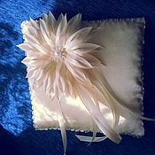 Свадебный салон ручной работы. Ярмарка Мастеров - ручная работа Подушечки для колец. Handmade.