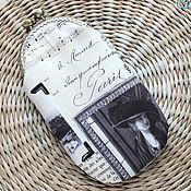"""Сумки и аксессуары ручной работы. Ярмарка Мастеров - ручная работа Футляр для очков """"Утро в Париже"""". Handmade."""
