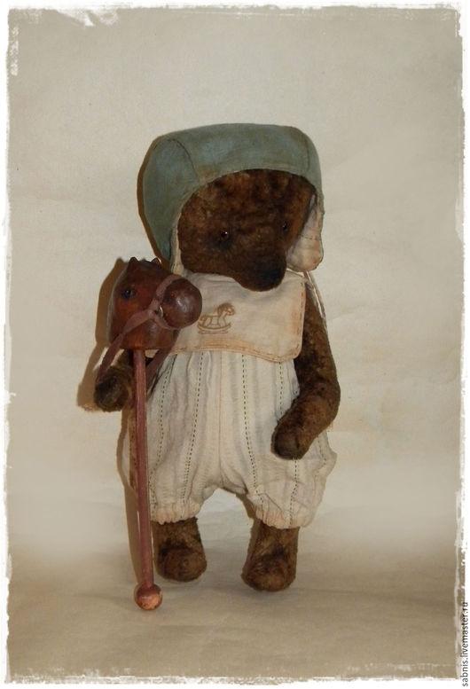 Мишки Тедди ручной работы. Ярмарка Мастеров - ручная работа. Купить На коне. Handmade. Коричневый, мишка в одежке