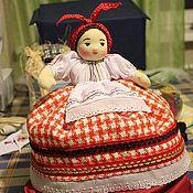 Для дома и интерьера ручной работы. Ярмарка Мастеров - ручная работа Моя Солоха (баба на чайник). Handmade.