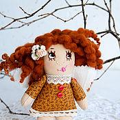 Куклы и игрушки ручной работы. Ярмарка Мастеров - ручная работа Ангел доброго сна, текстильная кукла, маленький ангелок. Handmade.