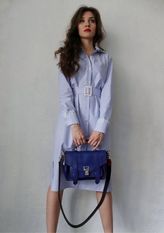 11fa45cb780 Платья ручной работы. Ярмарка Мастеров - ручная работа. Купить Платье  рубашка из хлопка и ...