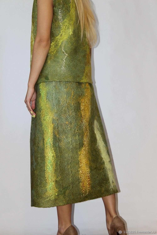Skirt 'Olive Royal', Skirts, Magnitogorsk,  Фото №1
