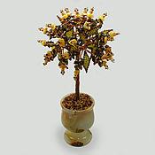 Цветы и флористика handmade. Livemaster - original item Tree of amber