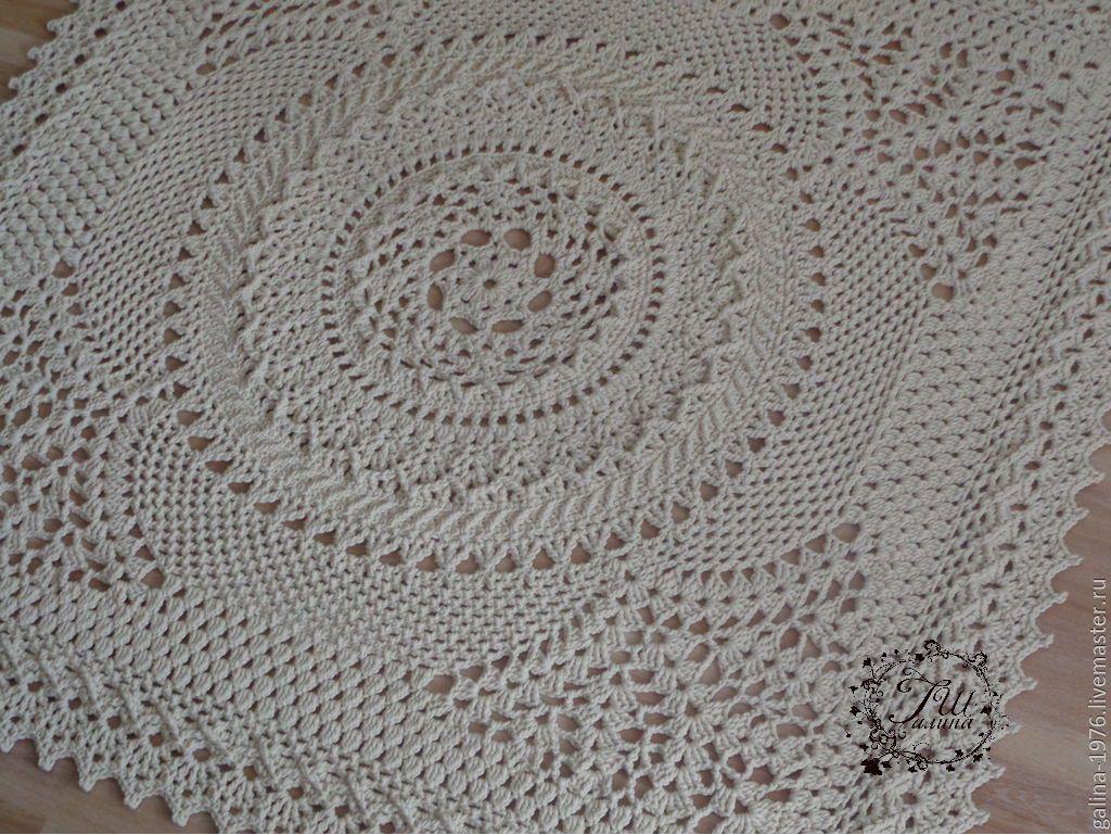 схемы для вязания ковров из шнура