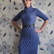 """Одежда ручной работы. Ярмарка Мастеров - ручная работа Платье""""Джинс-2"""". Handmade."""