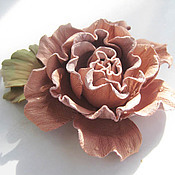 Украшения handmade. Livemaster - original item The colors of the skin.Decoration brooch pin SISSY .PINK ROSE. Handmade.