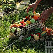 Куклы и игрушки ручной работы. Ярмарка Мастеров - ручная работа Фрукты-Овощи-Ягоды-Грибы. Handmade.