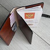 Канцелярские товары handmade. Livemaster - original item Passport/document cover. Handmade.