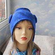"""Аксессуары handmade. Livemaster - original item wool hat """"Connie"""". Handmade."""