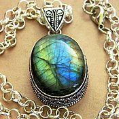 Украшения handmade. Livemaster - original item (4)Pendant With Labradorite natural stone.. Handmade.