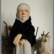 Куклы и игрушки ручной работы. Ярмарка Мастеров - ручная работа Бабуля .Коллекционная игрушка. Handmade.