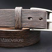 Ремни ручной работы. Ярмарка Мастеров - ручная работа Кожаный ремень ручная работа. Handmade.