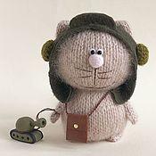 Куклы и игрушки handmade. Livemaster - original item Cat Tank.. Handmade.