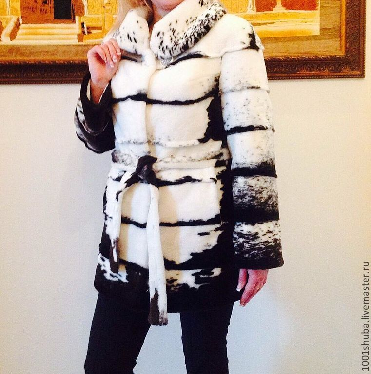 Beaver fur coat swamp, Fur Coats, Moscow,  Фото №1