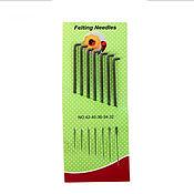 Материалы для творчества ручной работы. Ярмарка Мастеров - ручная работа Набор игл для валяния 7 шт №32-42. Handmade.