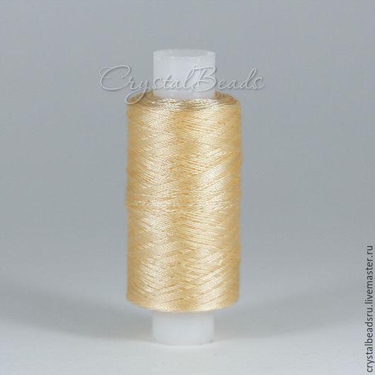 Капроновые нитки 50к для бисероплетения, для плетения фриволите и анкарса.