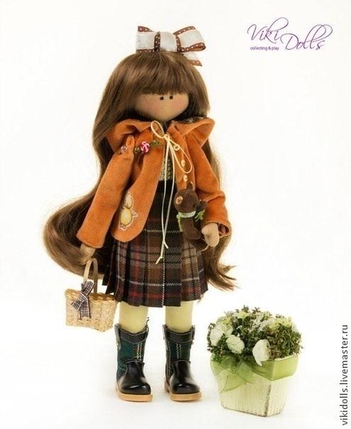 """Кукла-Тильда """"Шотландка"""" ед. Экз, Игрушки, Москва, Фото №1"""