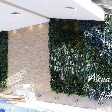 Дизайн и реклама ручной работы. Ярмарка Мастеров - ручная работа Фитостены из стабилизированных растений и мха. Handmade.