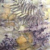 Аксессуары handmade. Livemaster - original item Tippet of wool Herbarium. Handmade.