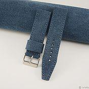 Украшения handmade. Livemaster - original item Canvas watch strap. Handmade.