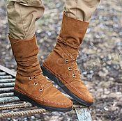 Обувь ручной работы handmade. Livemaster - original item Copy of Copy of Boots Loafers black full grain leather. Handmade.