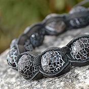 Украшения handmade. Livemaster - original item Shamballa bracelet with stone agate
