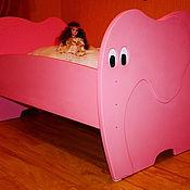 """Для дома и интерьера ручной работы. Ярмарка Мастеров - ручная работа Кровать """"Слоник"""". Handmade."""