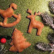 Елочные игрушки ручной работы. Ярмарка Мастеров - ручная работа Новогодние игрушки. Handmade.