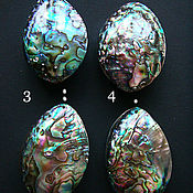 Материалы для творчества handmade. Livemaster - original item Double-sided shell pendant Haliotis paua. Handmade.