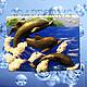 """Силиконовая форма для мыла """"Дельфины"""""""